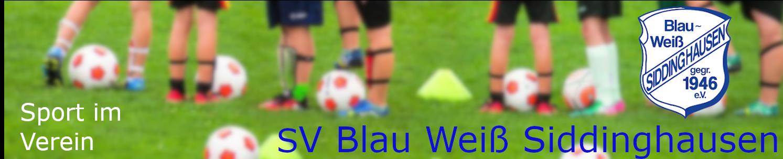 SV Blau Weiss Siddinghausen   #meine SG